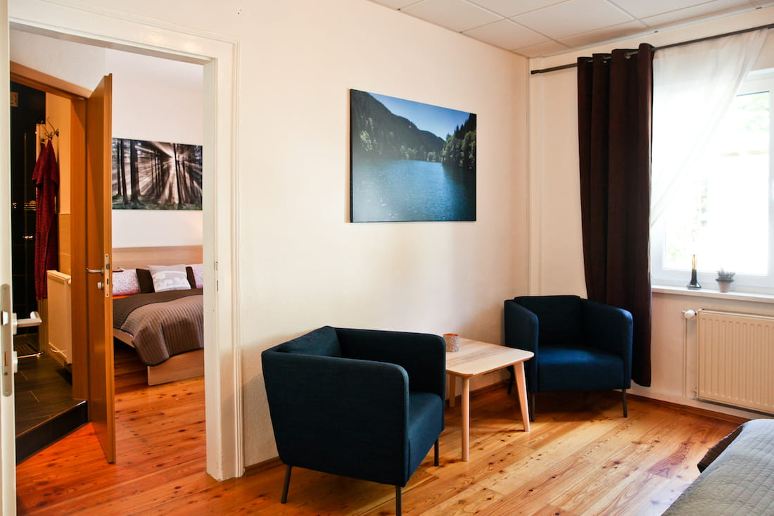 Zimmer Beerberg - Pension Oberhof 810M