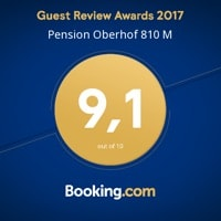 Pension Oberhof 810M - Booking.com Award