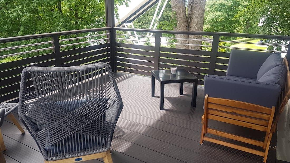 Zimmer Wadeberg Balkon